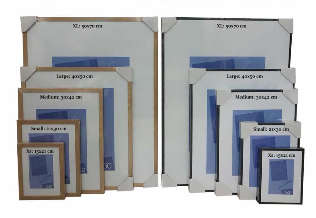 Kvalitetsrammer til plakater